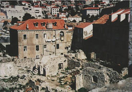 Dubrovnik after the war, photo by author