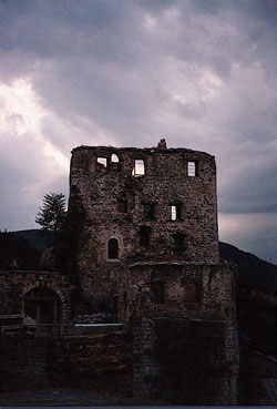 Destroyed building in Mostar, photo by author