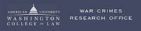Logo: The War Crimes Research Office of
